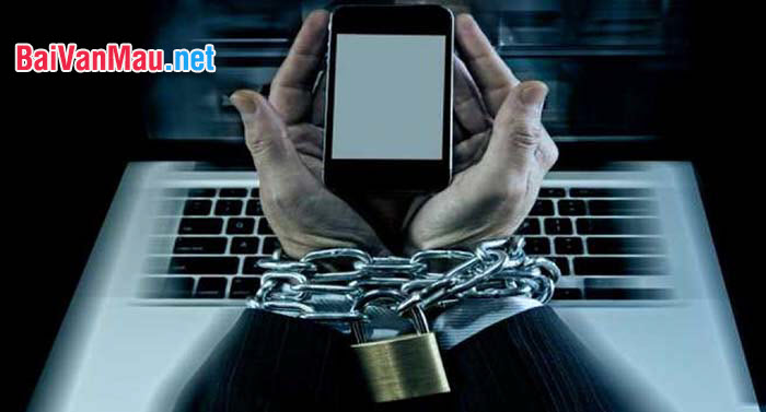 Suy nghĩ của anh (chị) về hiện tượng nghiện Internet trong giới trẻ hiện nay