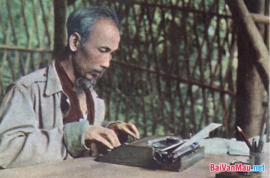 Hiểu và nghĩ về văn bản Tuyên ngôn Độc lập của Hồ Chí Minh