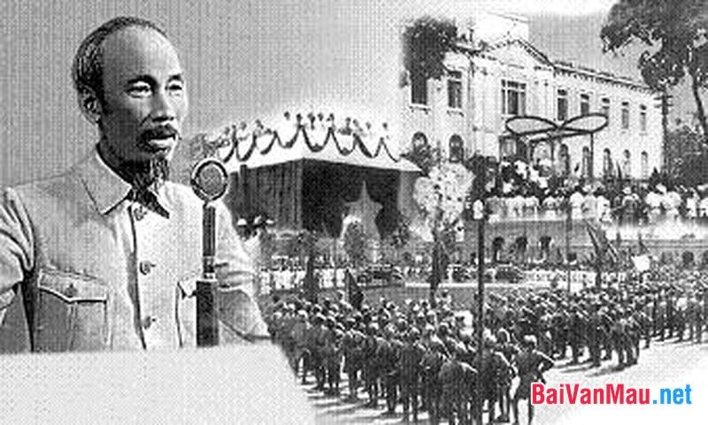 Bác Hồ và bản tuyên ngôn độc lập