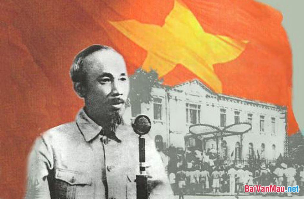 Phân tích văn bản Tuyên ngôn Độc lập của Hồ Chí Minh