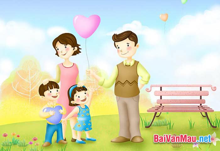 Nghị luận xã hội - Em hiểu như thế nào về hạnh phúc gia đình