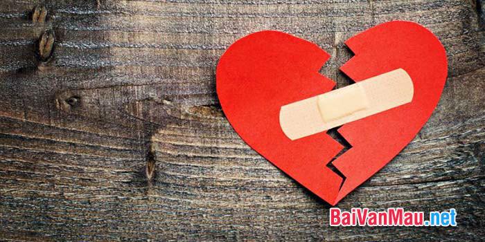 Một trái tim hoàn thiện không phải là trái tim thuỷ tinh trong suốt được đặt trong tú kính để ngày ngày ta ngắm nhìn