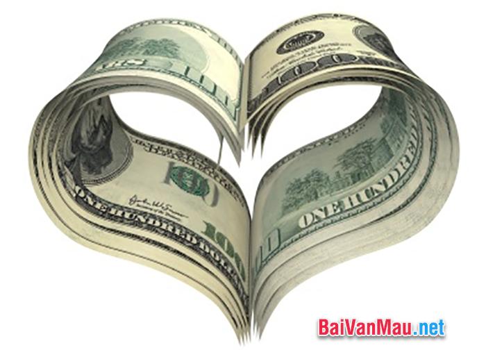 Tiền bạc và hạnh phúc có quan hệ với nhau như thế nào? Hãy trình bày quan điểm của anh (chị) về vấn đề trên