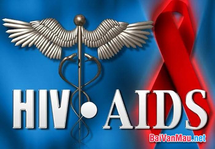 Nghị luận xã hội - Trong AIDS, im lặng là chết