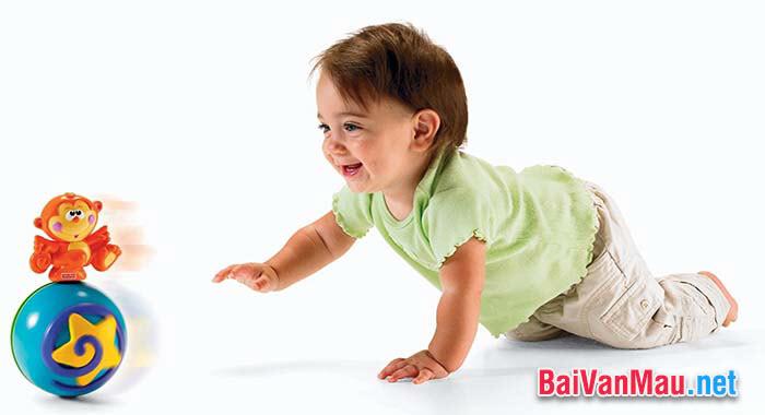 Văn tả người - Em hãy tả một em bé đang tuổi tập nói tập đi