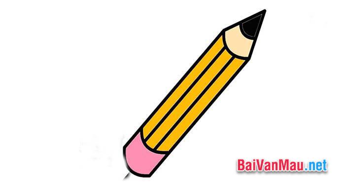 Văn tả đồ vật - Em hãy tả chiếc bút chì của em