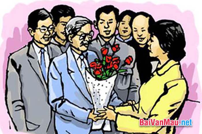 Văn kể chuyện - Em hãy kể một câu chuyện mà em biết trong cuộc sống nói lên truyền thống tôn sư trọng đạo của người Viêt Nam ta