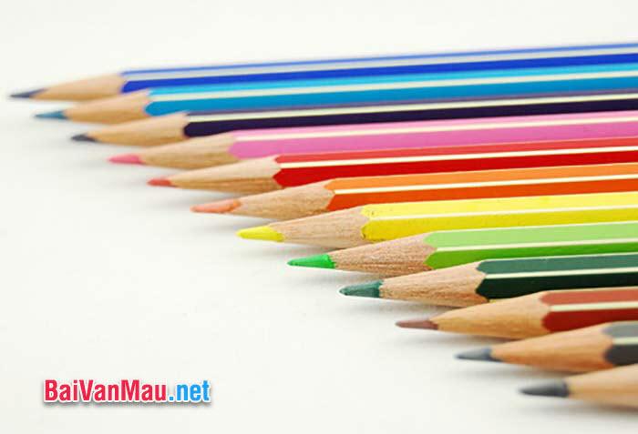 Văn nghị luận - Câu chuyện về cây bút chì