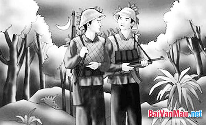 Văn nghị luận - Đồng chí của Chính Hữu