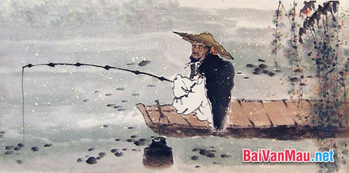 Qua bài Câu cá mùa thu (Thu điếu), hãy phân tích nghê thuật sử dụng từ ngữ độc đáo của Nguyễn Khuyến