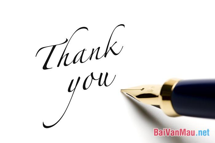 Giả định anh (chị) là một phụ huynh viết một bức thư ngắn (200 từ) cám ơn thầy, cô nơi con mình đang học
