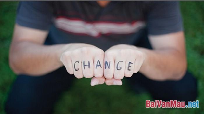 Văn nghị luận - Dựa vào cái gì để nhận biết để thay đổi bản thân?