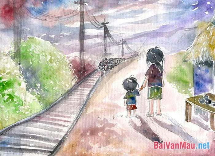 Từ khao khát hạnh phúc của chị em Liên trong truyện ngắn Hai đứa trẻ (Thạch Lam) bàn về mối quan hệ giữa hoàn cảnh và khát vọng của con người