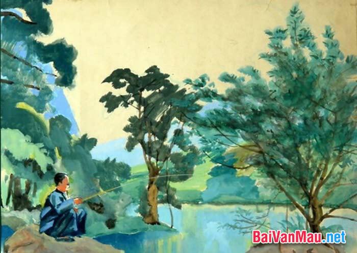 """Nhà thơ Xuân Diệu viết: """"Nguyễn Khuyến là nhà thơ của làng cảnh Việt Nam"""". Hãy dựa vào chùm thơ thu của ông để làm sáng tỏ nhận định trên"""