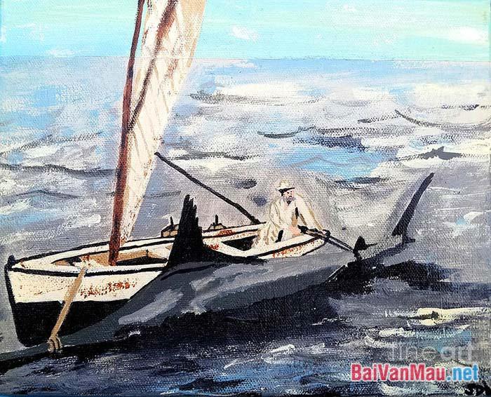 Nghệ thuật đoạn trích Ông già và biển cả của Hê-ming-uê
