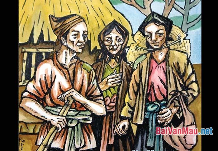 Cảm nhận về nạn đói và suy nghĩ về nhân vật Tràng trong truyện ngắn Vợ nhặt của Kim Lân