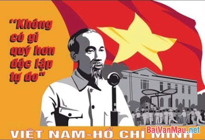 Phân tích tính chính luận mẫu mực của Tuyên ngôn Độc lập (Hồ Chí Minh)