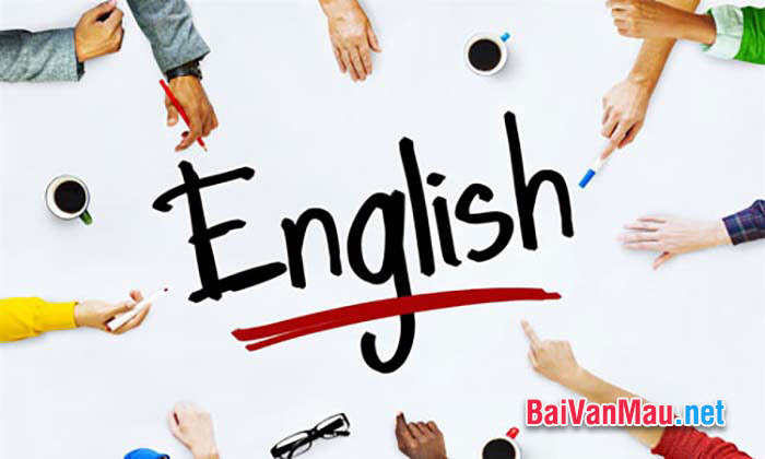 Văn thuyết minh - Tôi học tiếng Anh