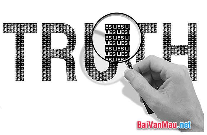 Nghị luận xã hội - Viết ngắn về sự trung thực