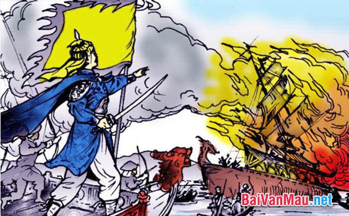 Phân tích phần đầu bài Bình Ngô đại cáo của Nguyễn Trãi: Việc nhân nghĩa... (...) Mỗi bên xung đế một phương