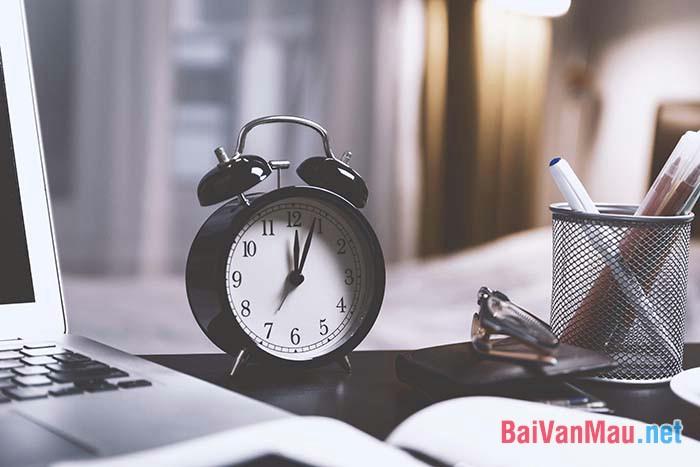 Văn nghị luận - Nếu em biết suy tư khoảng thời gian chờ đợi không bao giờ vô nghĩa