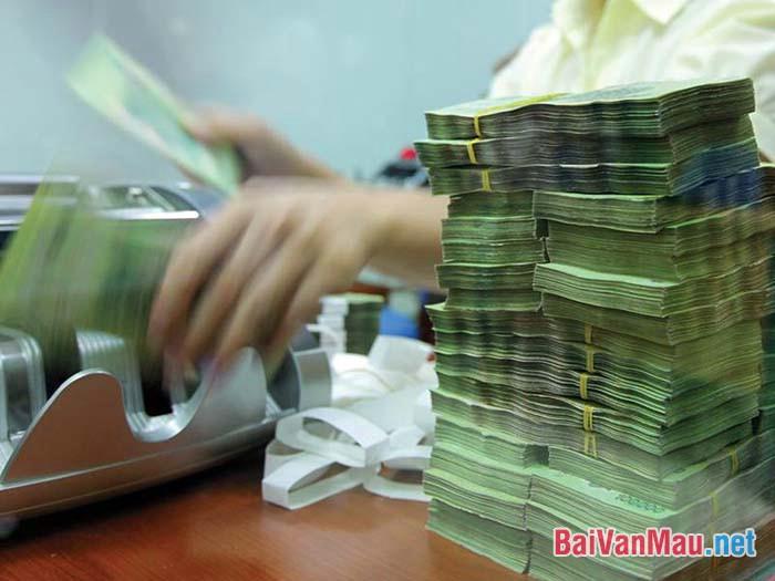 Tiền nhiều để làm gì? Hãy trình bày suy nghĩ của mình về vấn đề trên