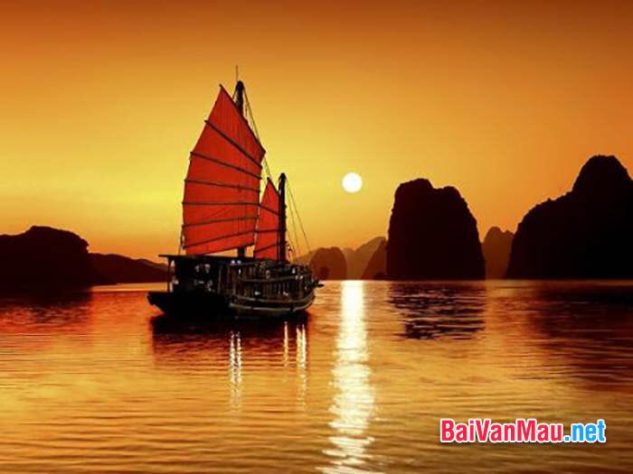 Những phát hiện của nghệ sĩ Phùng khi đứng trước biển lúc bình minh trong bài Chiếc thuyền ngoài xa của Nguyễn Minh Châu