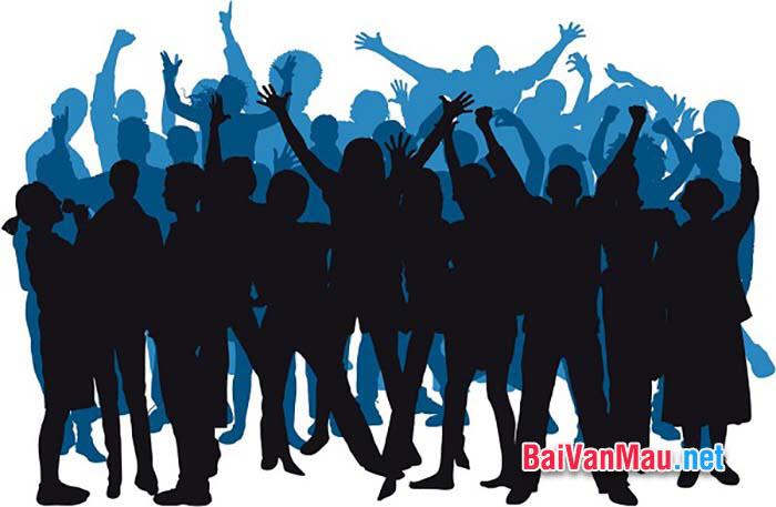 Viết bài văn nghị luận xã hội về hiệu ứng đám đông