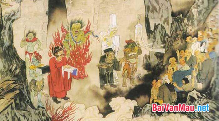 Nghị luận văn học chuyện Chức phán sự đền tản viên của Nguyễn Dữ