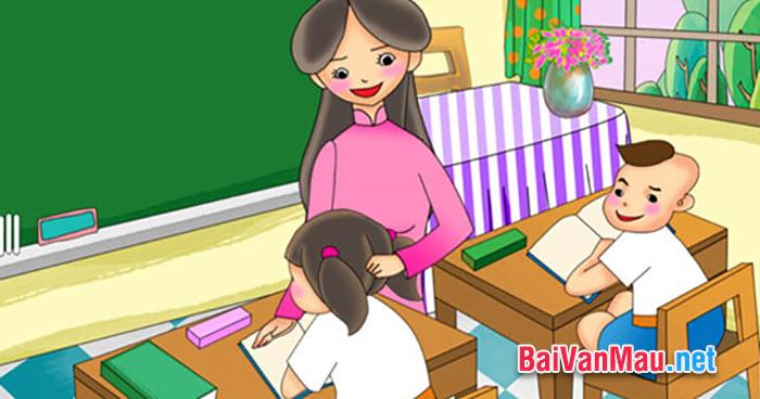 ô dạy Toán cũng như chủ nhiệm lớp tôi