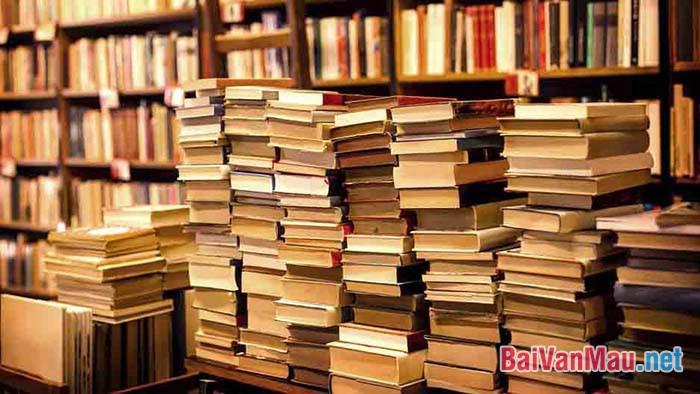 Hãy chứng minh rằng cần phải chọn sách mà đọc
