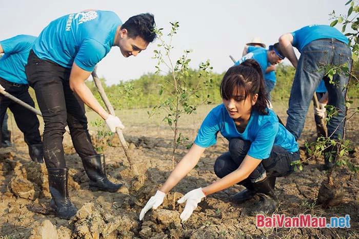 Hãy Chứng minh rằng bảo vệ môi trường là bảo vệ sự sống của chúng ta