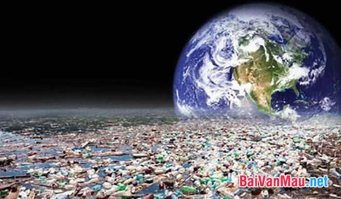 Em hãy nêu ý kiến của mình về môi trường đang bị ô nhiễm trầm trọng, hãy viết một bài văn nghị luận về vấn đề trên