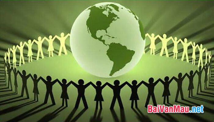 Viết bài văn chứng minh rằng: Bảo vệ môi trường là bảo vệ cuộc sống của chúng ta