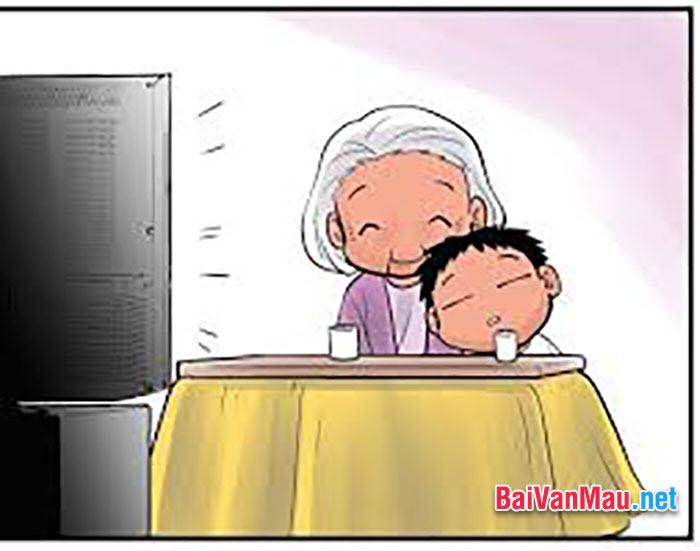 Viết bài văn biểu cảm về bà thân yêu của em