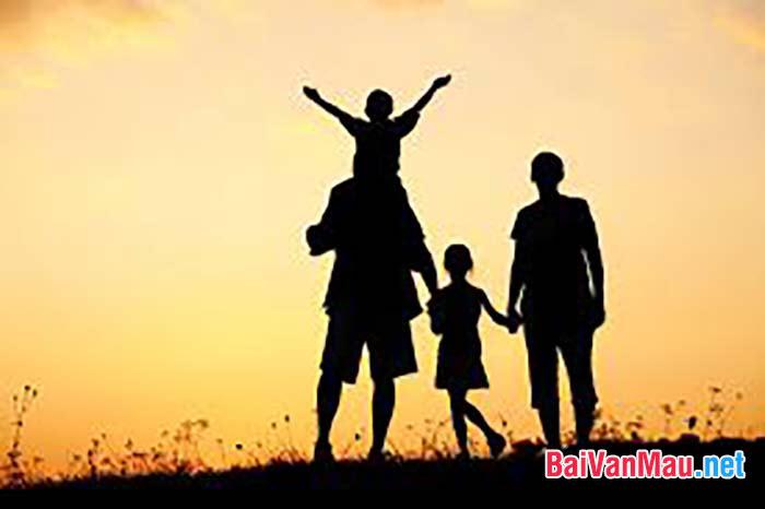 Từ các văn bản Những câu hát về tình cảm gia đình... , hãy phát biểu những suy nghĩ và tình cảm của em... cho những ai không có được những may mắn đó