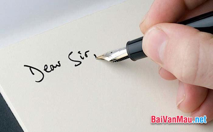 Em hãy viết 1 lá thư gửi mẹ của em