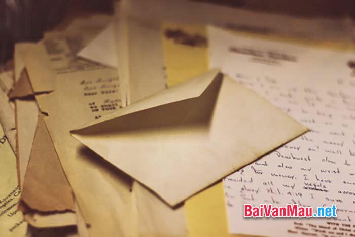 Anh (chị) hãy viết thư cho một người bạn để bạn hiểu về đất nước mình