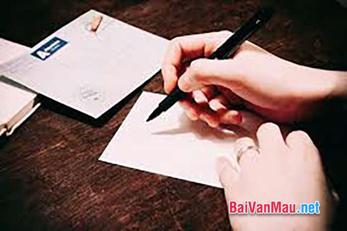 Em hãy viết thư cho một người bạn để bạn hiểu về đất nước mình